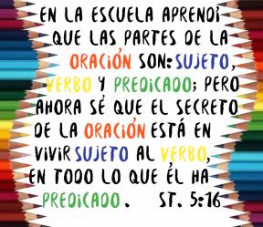 Oración Sujeto Verbo Predicado