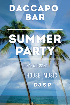 Summer party #invitation #poster #club #party #dj #vibes #club