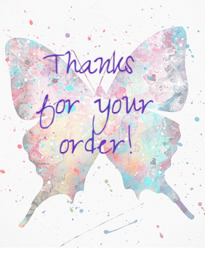 thanks order Butterfly