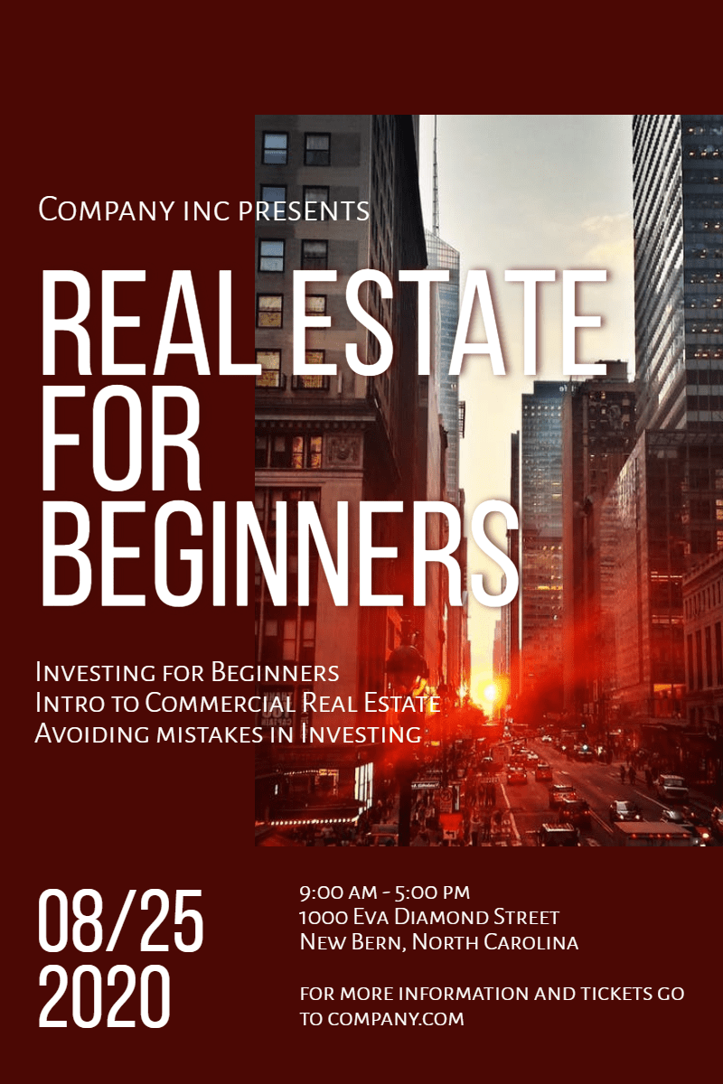 Advertising,                Poster,                Font,                Metropolis,                Brand,                Heat,                Real,                City,                Business,                Beginners,                White,                Black,                Red,                 Free Image