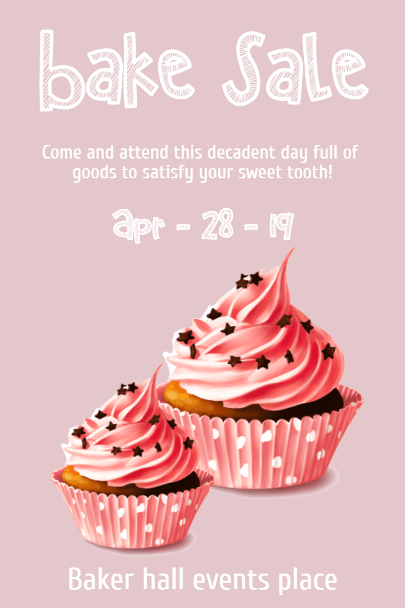 bake sale #business #templates Design  Template