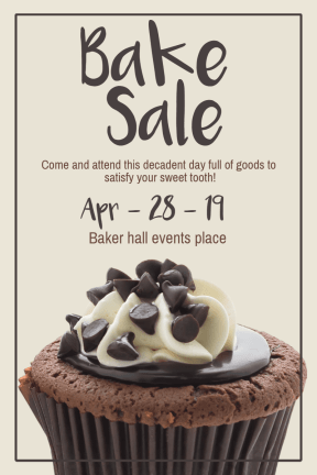 bake sale #business #templates #summer #sale #bake #business