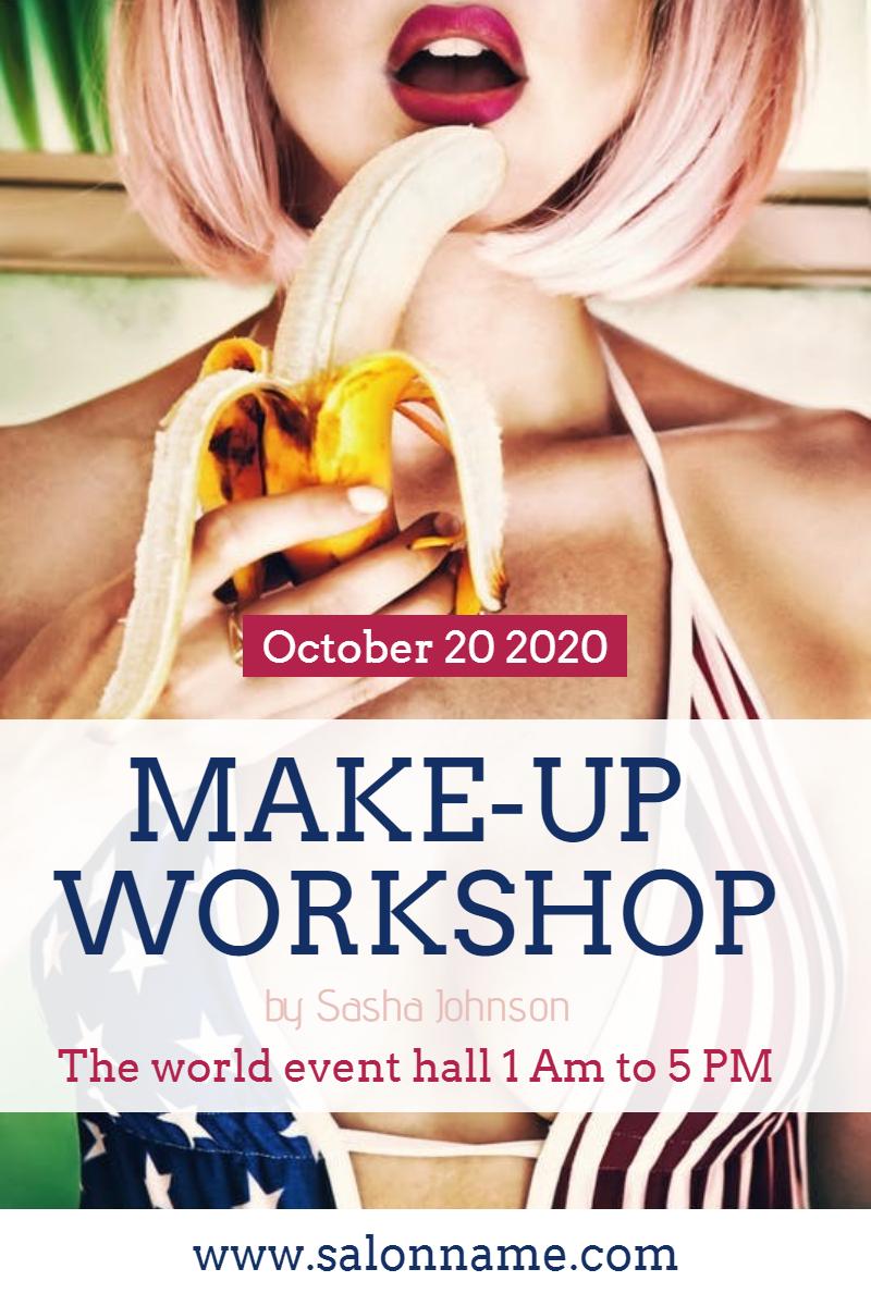 Make-up workshop #business #workshop Design  Template
