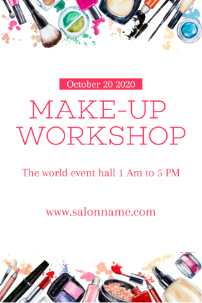 Make-up workshop #business #workshop #makeup #beauty #business #invitation