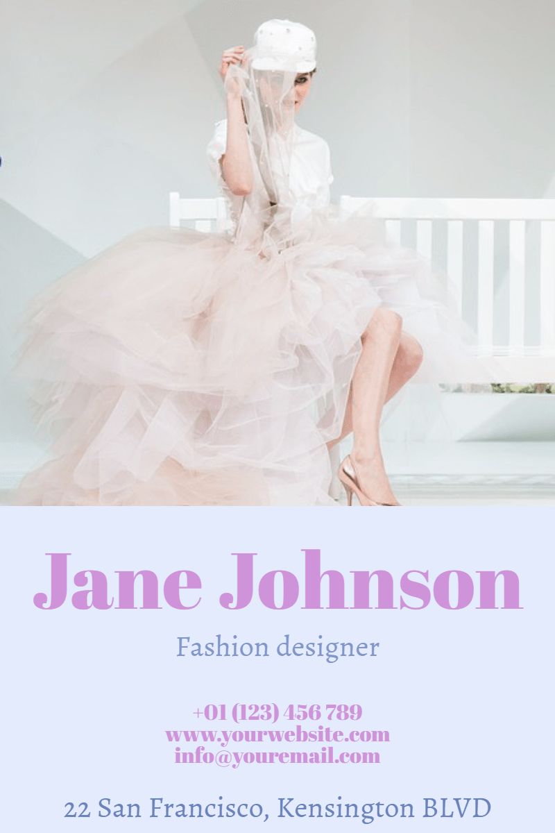 Fashion Designer #business #poster Design  Template