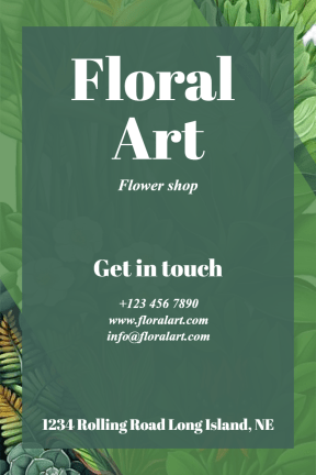 Flower shop #business #flower #flowershop #shop #poster