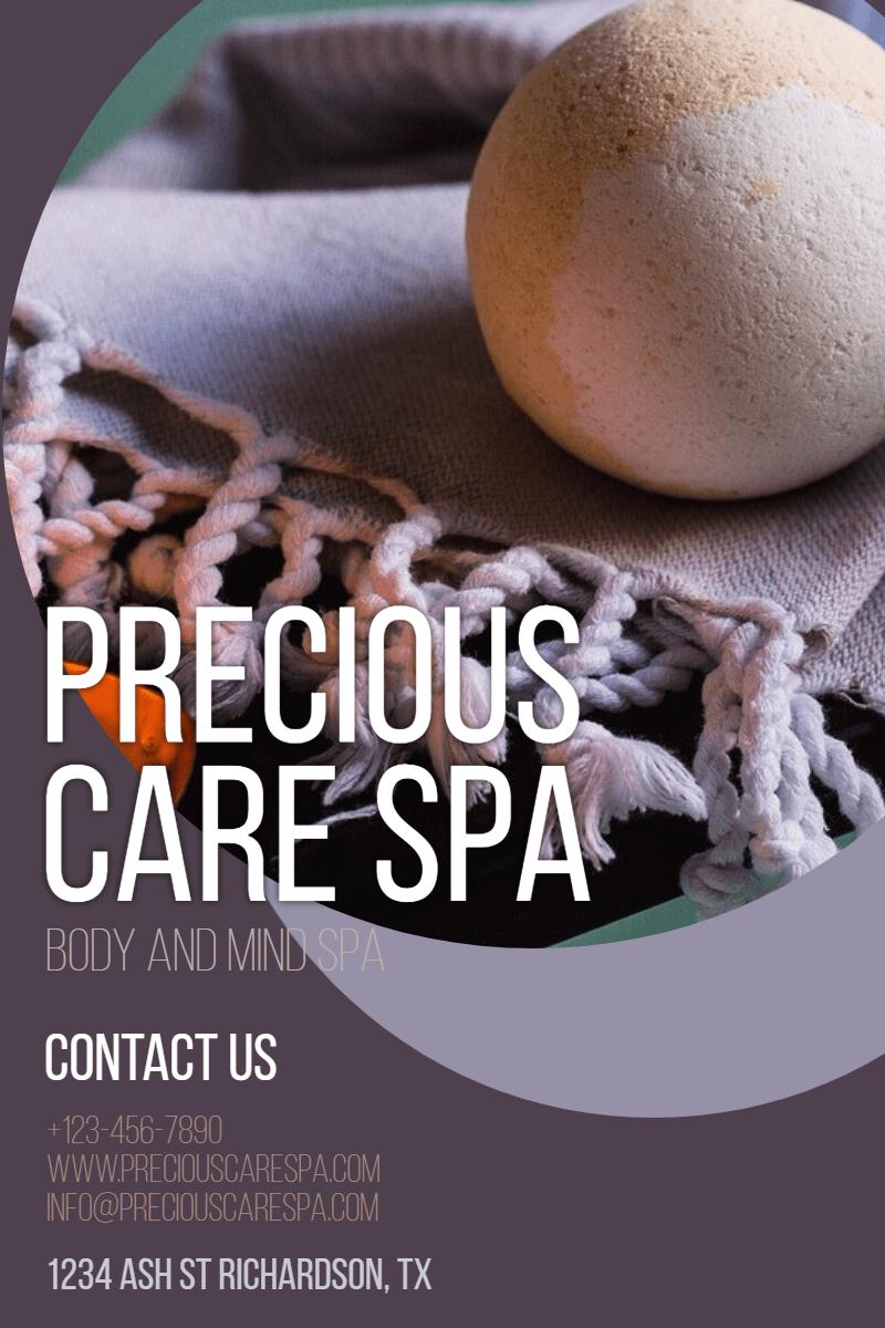 Precious care spa #spa #care #relax Design  Template