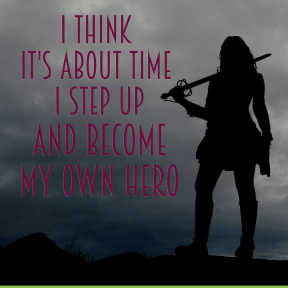 Become my own hero - #poster #luxury