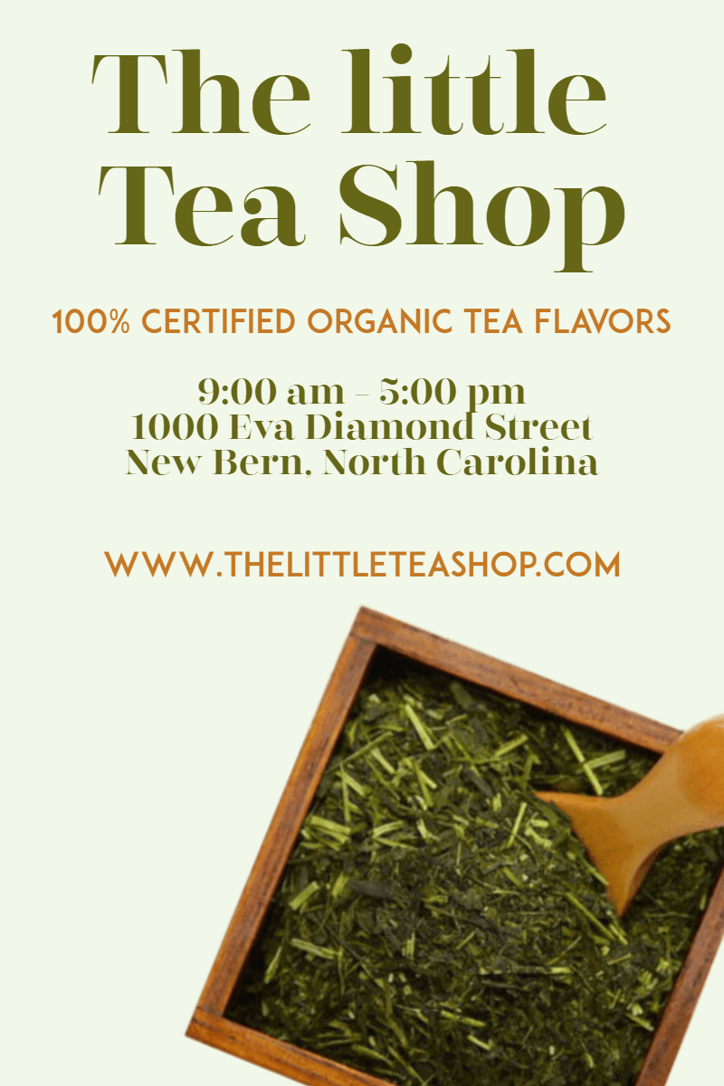 The tea shop #tea #green #teashop Design  Template