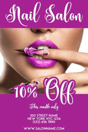 Nail Salon #nail #nailart #salon #beauty #business #poster