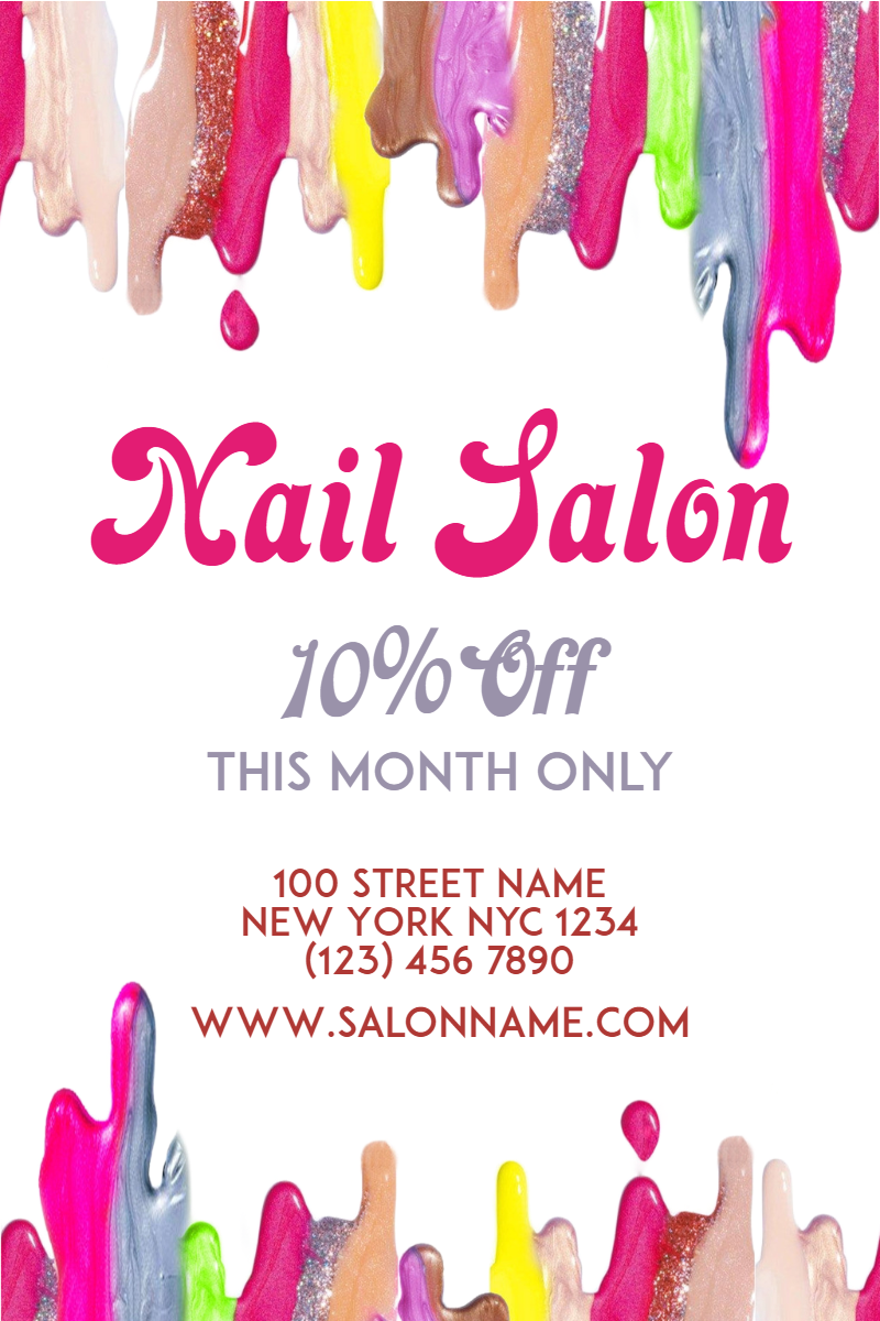 Nail Salon Nail Nailart Salon Image Customize Download It For