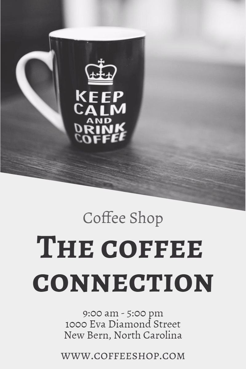 Text, Cup, Coffee, Font, Product, Mug, Black, And, White, Business, Shop,  Free Image