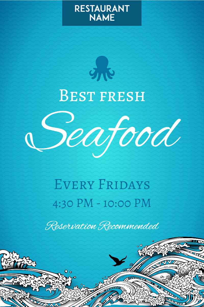 Blue,                Text,                Water,                Aqua,                Font,                Poster,                Advertising,                Sky,                Graphic,                Design,                Product,                Restaurant,                Seafood,                 Free Image