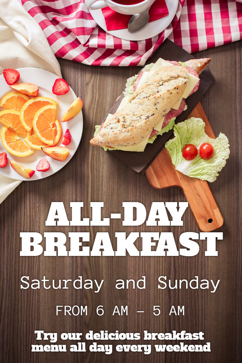 All day breakfast #business Design  Template