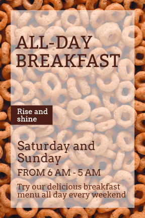 All day breakfast #business #invitation #breakfast #food