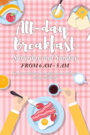 All day breakfast #business #invitation #breakfast #food