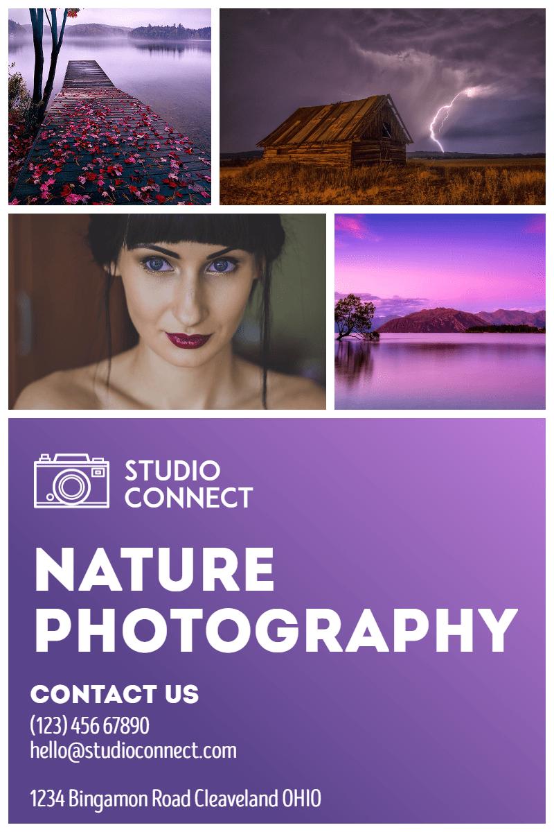 Photography Studio #studio #nature Design  Template