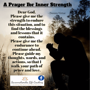 A Prayer For Inner Strength