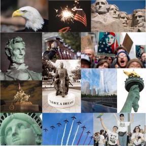 Patriotic Collage