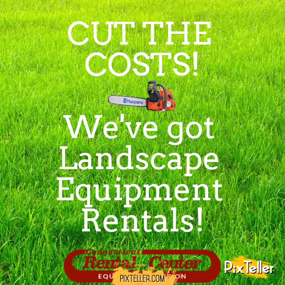 Lexi Zila › Landscape Rental Equipment - Landscape Rental Equipment Image - Customize & Download It For Free