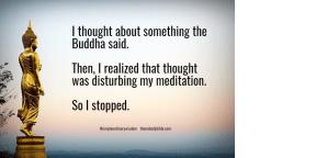 Buddha Thought