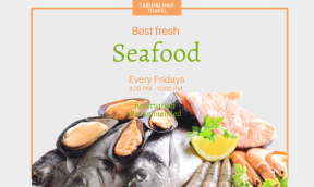 Seafood restaurant  #restaurant #seafood #fish #template #business