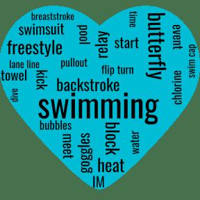 swim heart