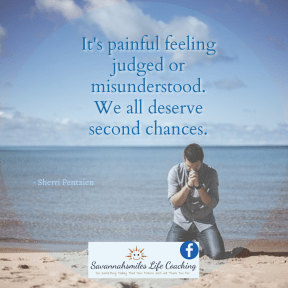 Everyone deserves to be given a second chance.