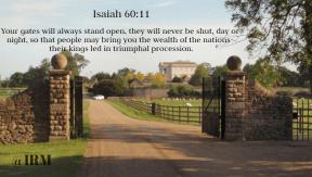 Isaiah 60:11