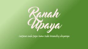Ranah Upaya Cover