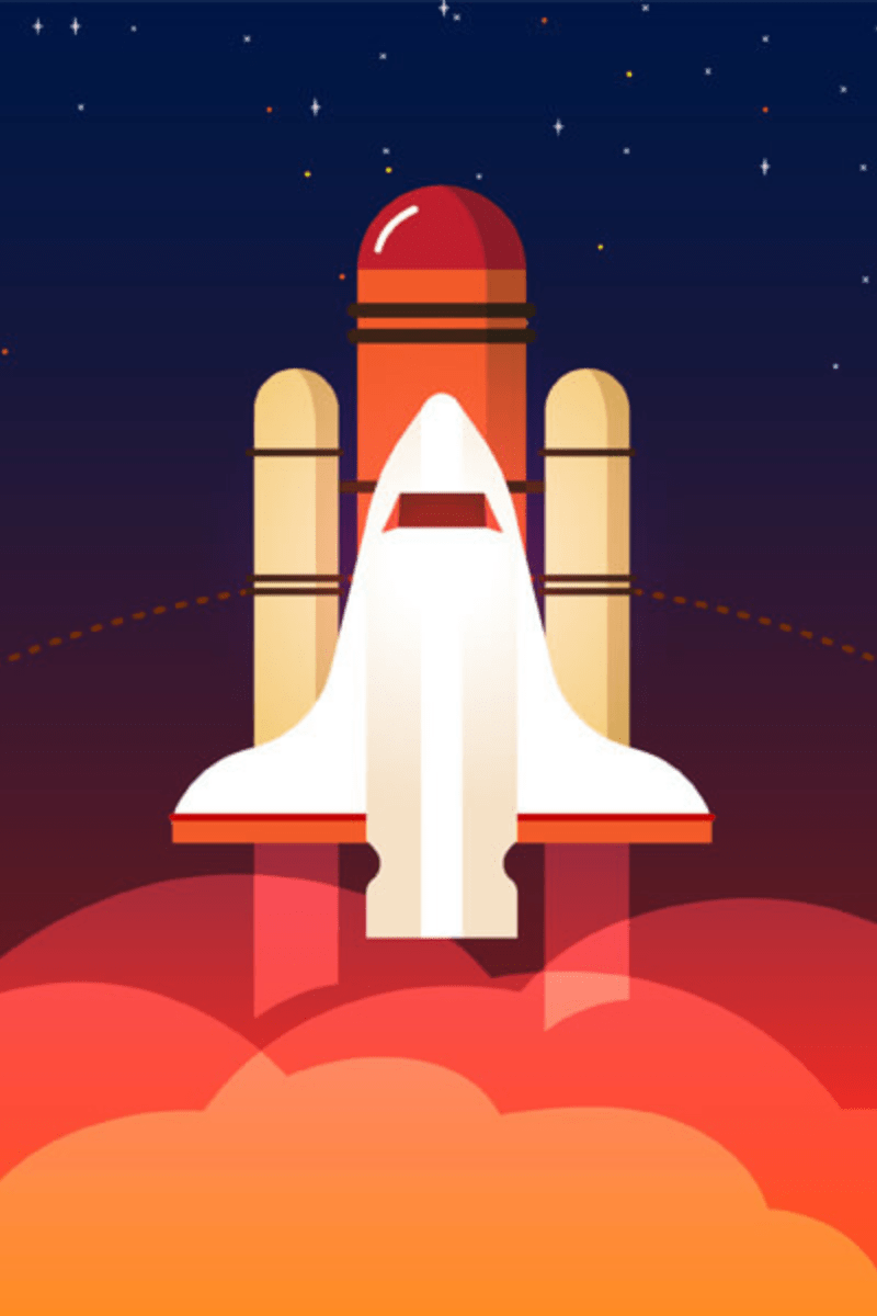 Red,                Rocket,                Spacecraft,                Heat,                Product,                Design,                Sky,                Computer,                Wallpaper,                Illustration,                Space,                Backgrounds,                Business,                 Free Image