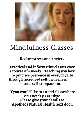Mindfulness Classes Faversham