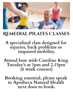 Remedial Pilates Classes Faversham