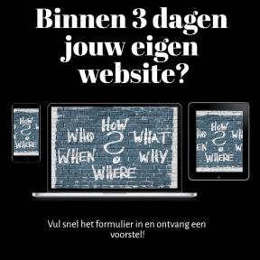 Jouw eigen website