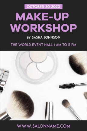 Make-up workshop #business #workshop #makeup #beauty #business #invitation