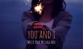 You and I #poster