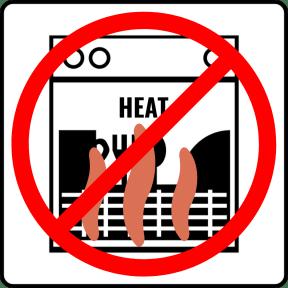 dont use heat