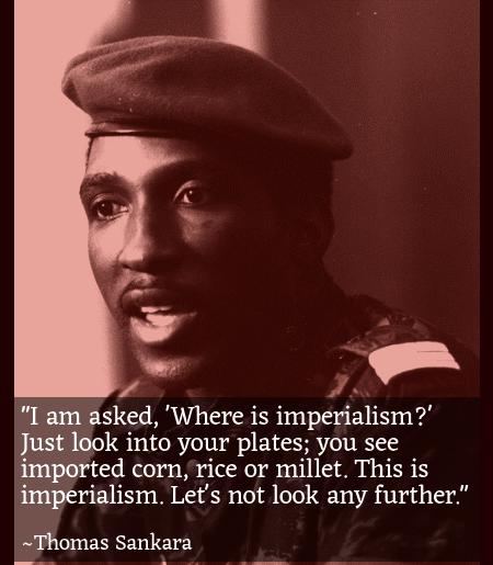 Thomas Sankara   Imperialism Quote Design Template   132415