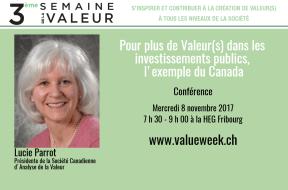 Pour plus de valeur(s) dans les investissements publics