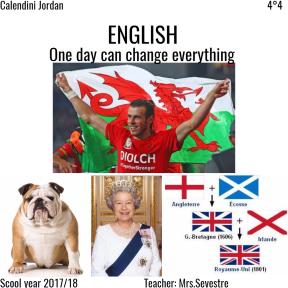 page d'accueil d'anglais