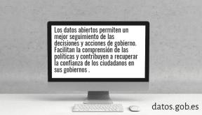 #dadesobertes #governobert #transparència