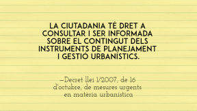 #participacio #urbanismes