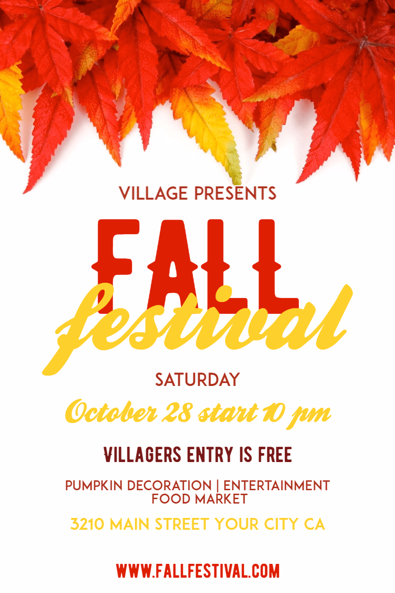 Text,                Leaf,                Advertising,                Font,                Tree,                Maple,                Graphics,                Graphic,                Design,                Fall,                Festival,                Poster,                Autumn,                 Free Image