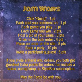 Jam Wars party points