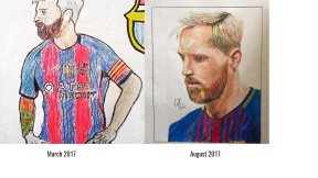 messi progress