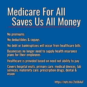 Medicare For All Saves Us Money