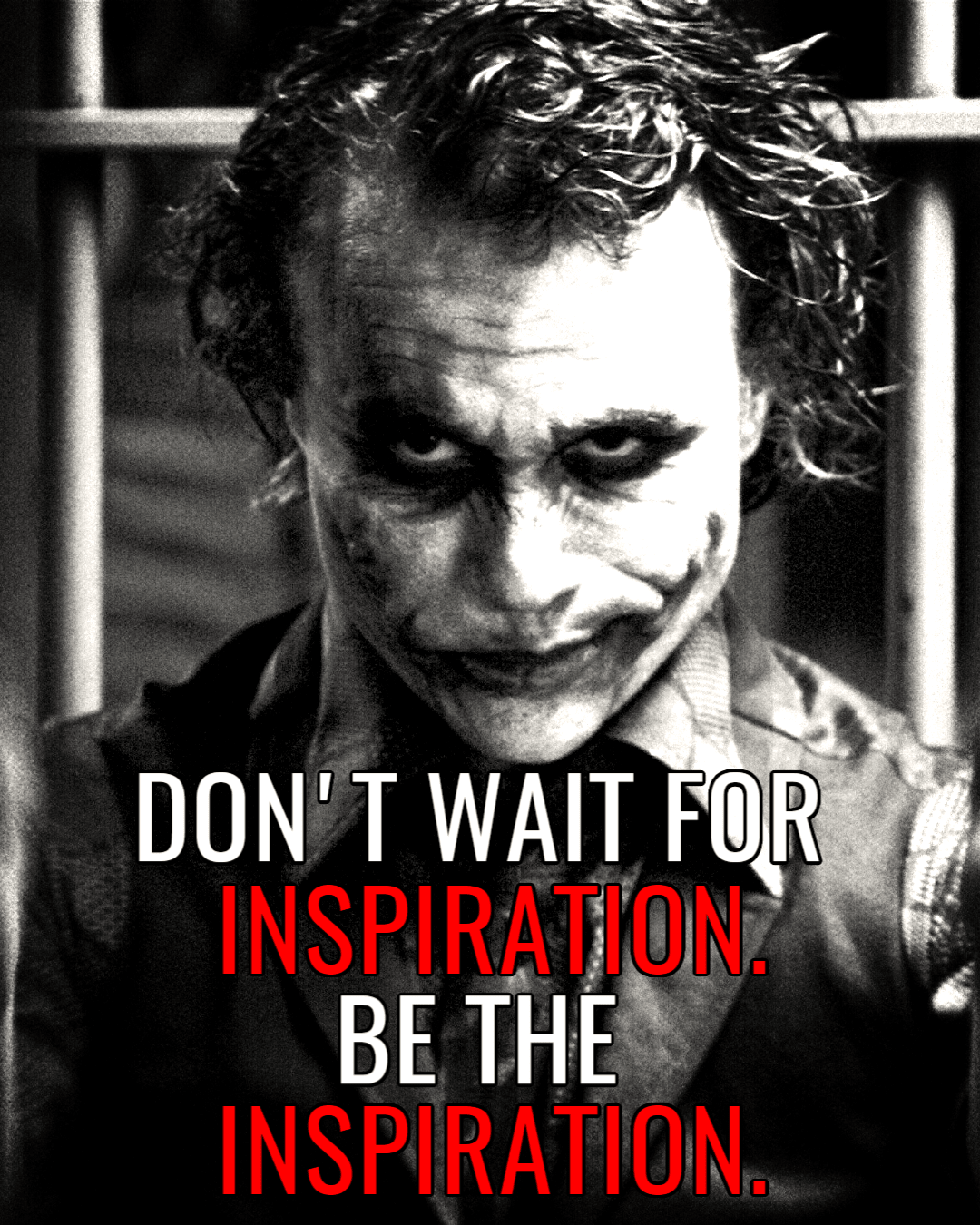 Black,                And,                White,                Joker,                Supervillain,                Poster,                Film,                Photo,                Caption,                Fictional,                Character,                Font,                Road,                 Free Image