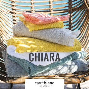 Chiara Carre Blanc Mtl