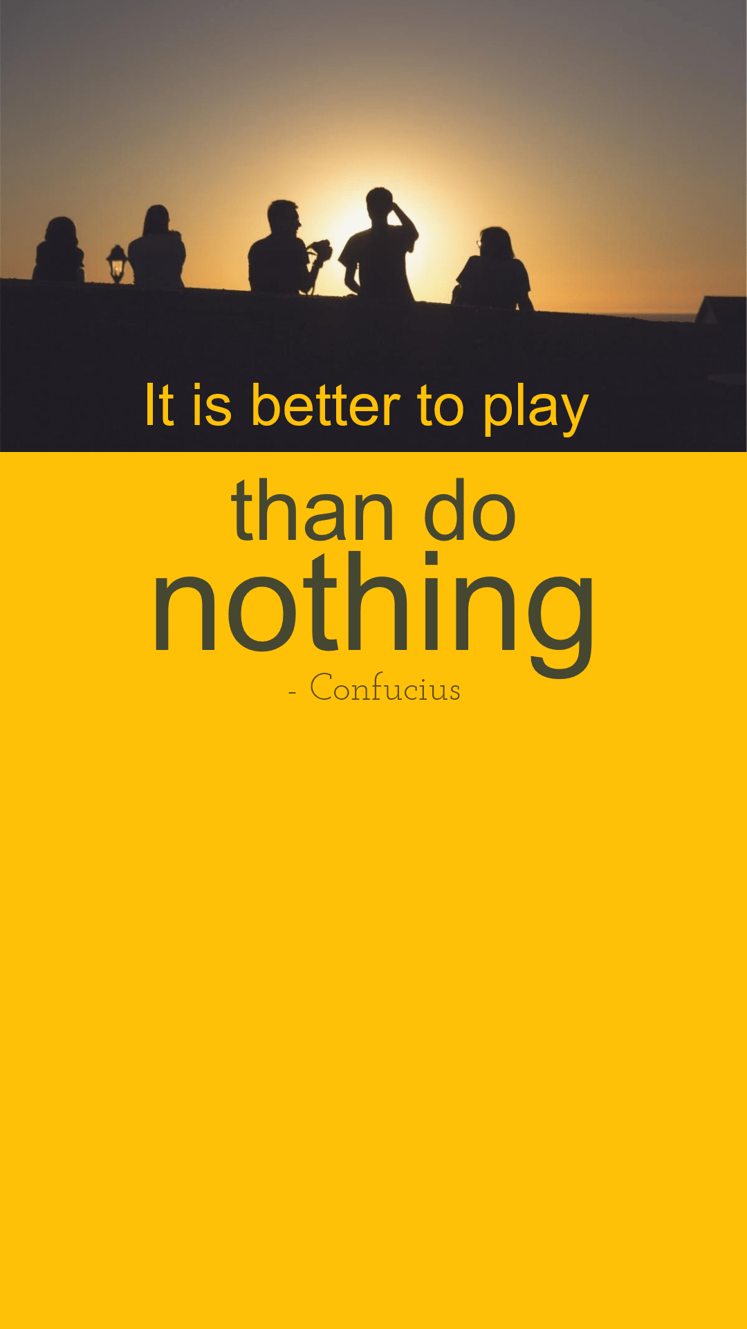 Yellow,                Text,                Font,                Sky,                Brand,                Silhouette,                Landscape,                Poster,                Quote,                Simple,                Black,                 Free Image