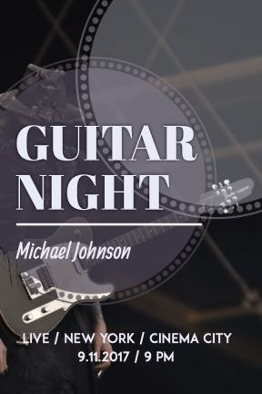 #poster #music #guitar